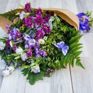 זר פרחים טיקי
