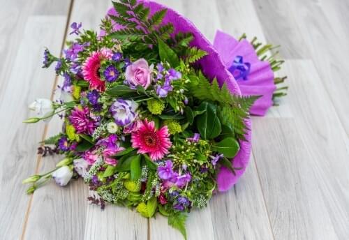 זר פרחים מדריד