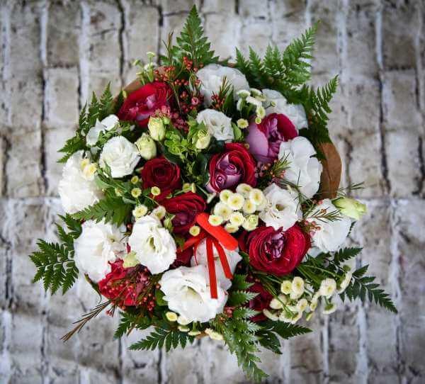 זר פרחים מרצ'יאנו
