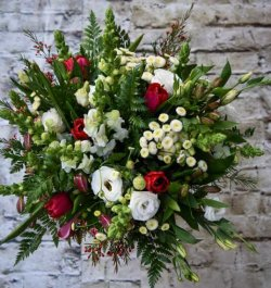 זר פרחים קאפריזה