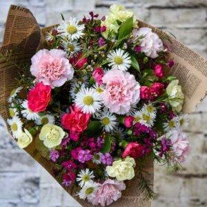 זר פרחים רגשות