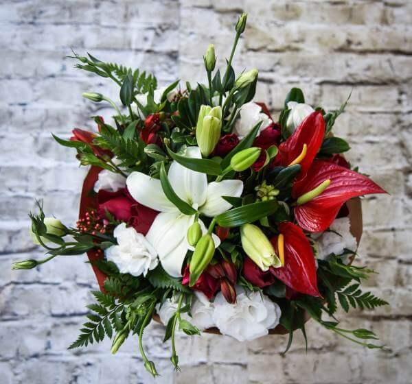 זר פרחים ספרטה