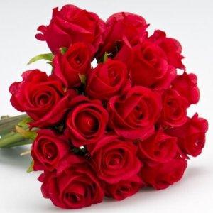 זר פרחים קרואסון