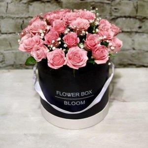 סלסלת ורדים פינק בלום