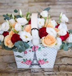 סידור ורדים פריז