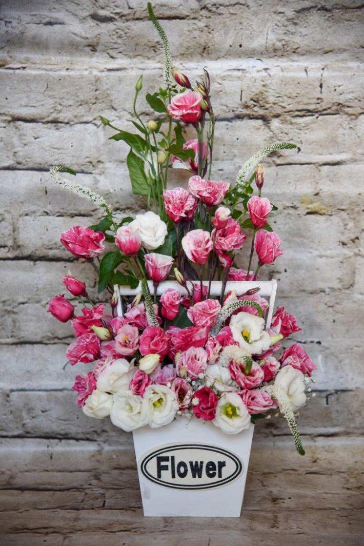 סלסלת פרחים בחיפה