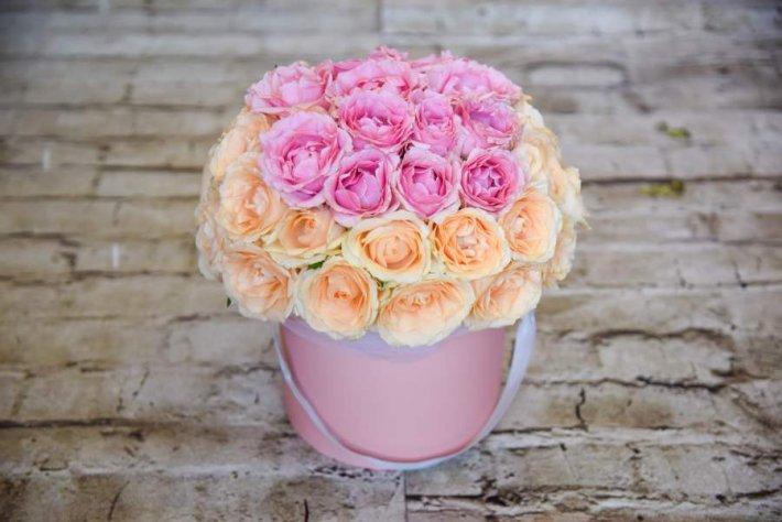 קופסת פרחים - פלמינגו