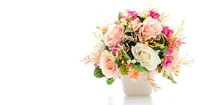 סלסלות פרחים