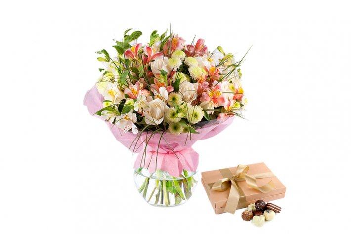 סידור פרחים אהבה ראשונה